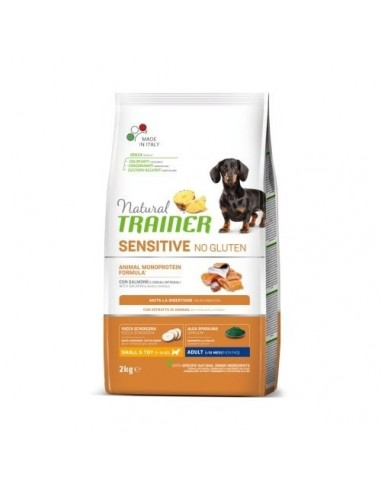 Natural Trainer Sensitive No Gluten Mini Salmón