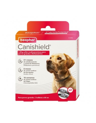 Canishield Collar Antiparasitario Beaphar 65 cm