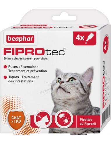Antiparasitario Externo Beaphar Fiprotec Gatos