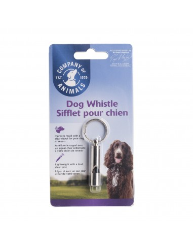 Halti Silbato de metal COA Dog Whistle