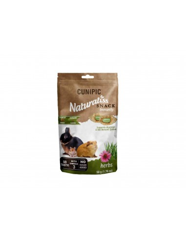 Cunipic Naturaliss Snack Inmunity Herbs