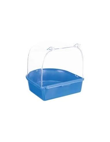 Bañera para Pájaros Semicircular