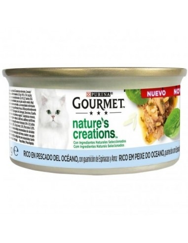 Purina Gourmet Nature Creations Filetes de Pescado del Oceano