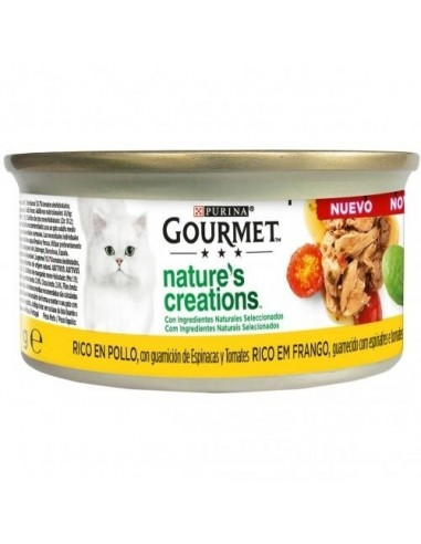 Purina Gourmet Nature Creations Filetes de pollo