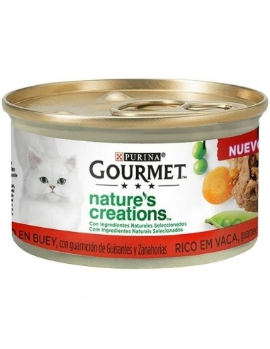 Purina Gourmet Nature Creations Filetes de Buey