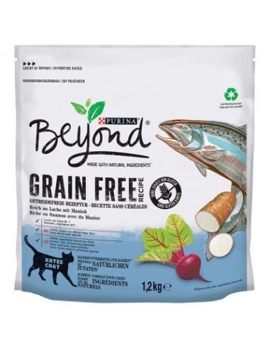 Purina Beyond Grain Free Salmón para gatos
