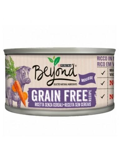 Purina Beyond Grain Free Mousse de Buey