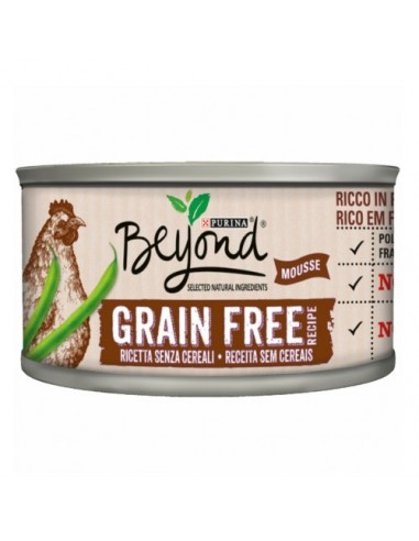 Purina Beyond Grain Free Mousse de Pollo