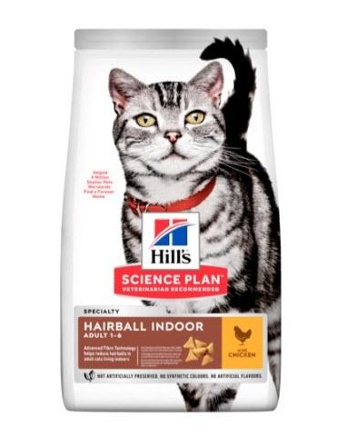 Hill's Science Plan Feline Adult Hairball