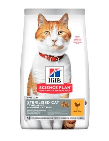 Hill's Science Plan Feline Young Adult Sterilised Cat Pollo