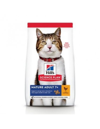 Hill's Science Plan Feline Mature Adult 7+ Pollo