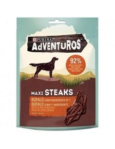 Purina  Snacks Adventuros Maxi Steaks Búfalo