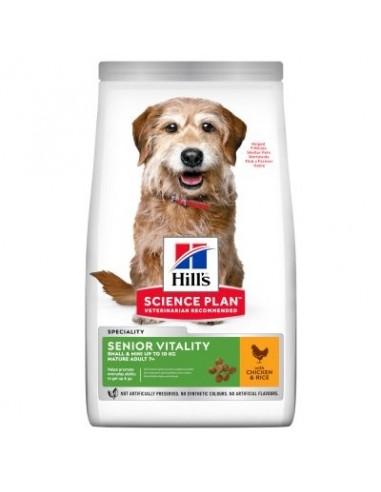 Hill's Senior  7+ Small & Mini Science Plan Mature Vitality Pollo