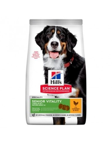 Hill's Canine Science Plan Mature Adult 5+ Senior Vitality Large Breed Pollo