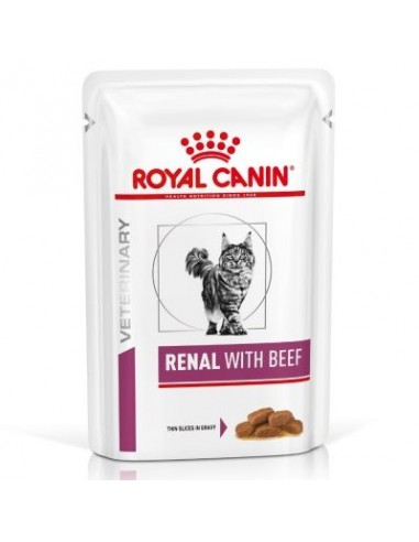Royal Canin Feline VD Renal Bolsita Buey