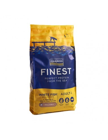 Fish4Dogs Finest Pescado Blanco Adulto Mini