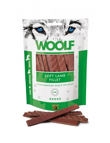 Woolf Snack Filete suave de Cordero