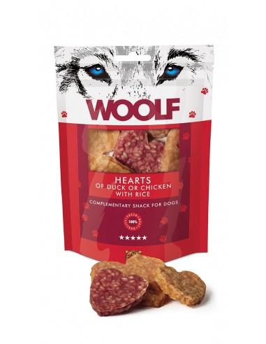 Woolf Snack Corazones de Pato y Pollo