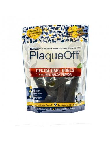Plaqueoff Dental Care Bones Natural Bacon