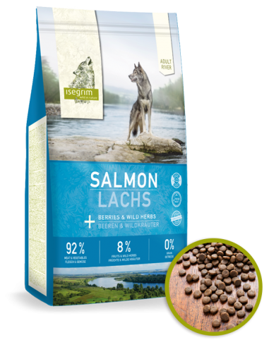 Isegrim Perro Adult Salmon y Bayas