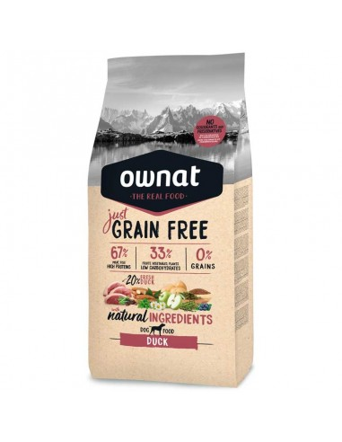 Pienso Ownat Just Grain Free Adult Pato