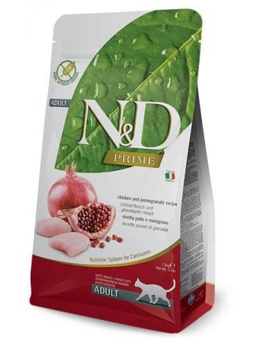 Farmina N&D Pollo y Granada Adult Cat Grain Free Prime